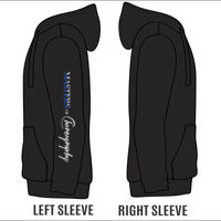 MASTERS - Adult Unisex Heavyweight Hoodie - Logo on Sleeve Thumbnail