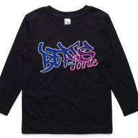 BEATS ON POINTE - Kids long sleeve top Thumbnail